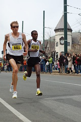Ryan Hall and Tekeste Kebede