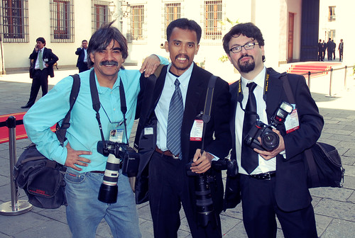 With Photographers from Santiago