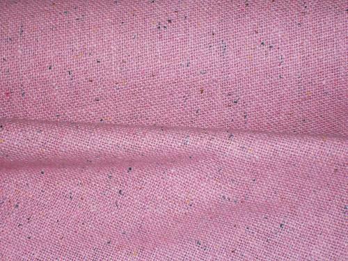 Grainy Pink Linen