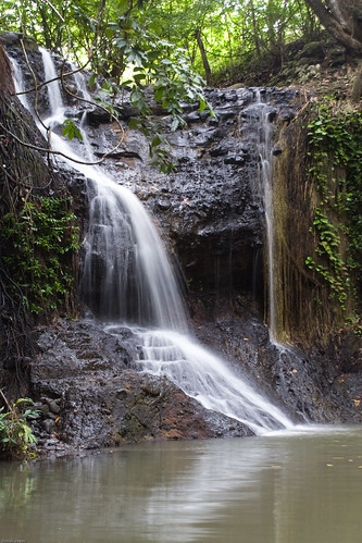 Latille Waterfall - St Lucia
