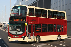 EYMS 758 YX09GWC (Howard_Pulling) Tags: uk bus buses hull eastyorkshire gemini2 wrightbus route45 eyms volvob9tl hullinterchange wrighteclipsegemini2 service45