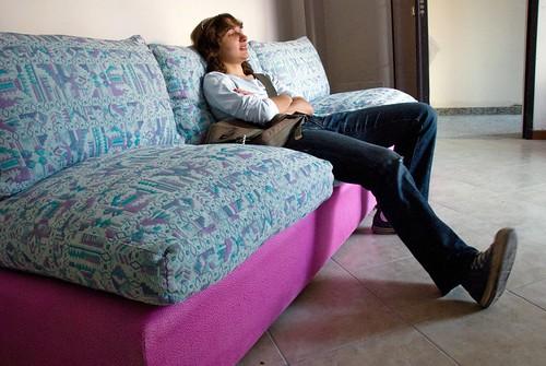 Tingere fodera divano
