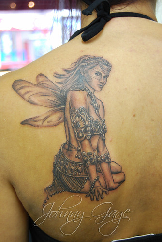 bling fairy tattoo