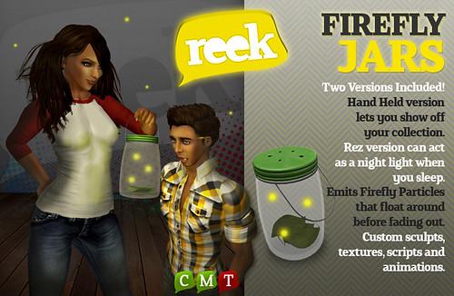 Reek - Firefly Jars Ad
