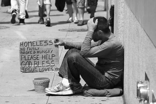 Homeless in New York...