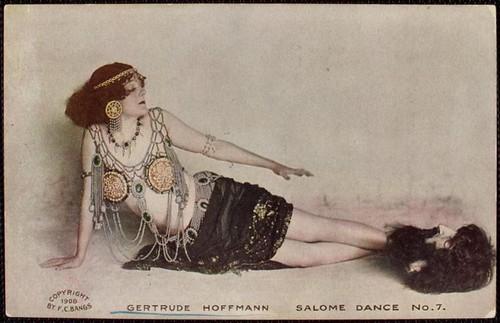 016- Gertrude Hoffmann Danza de Salome 1908