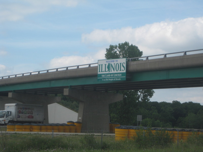 Entering Illinois