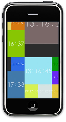 Clock08 for iPhone