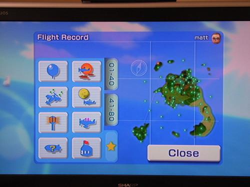 Wii Sports Resort Island Flyover I Points List Pal
