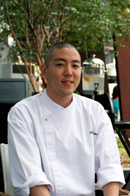 Chef Pyung Sang Soo trained at Cordon Bleu and worked at San Marco and Mimolette previously