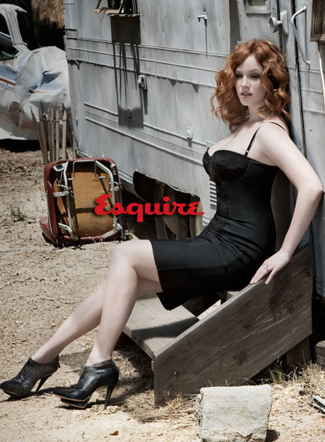 Christina Hendricks _ Esquire 2