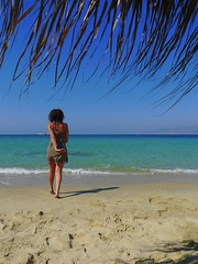 enter paradise (( Phill)) Tags: she naxos plakabeach interestingshot homersbeautyofwoman shooting