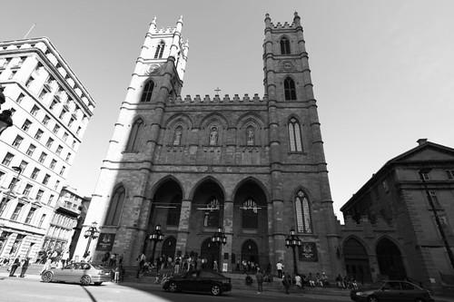 Basilique Notre-Dame de Montreal.