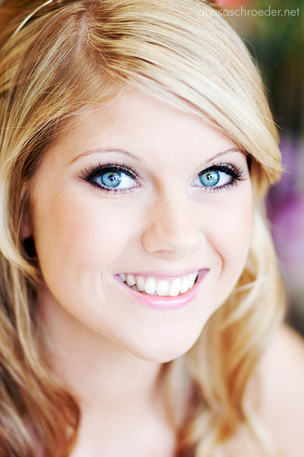 Bridal Makeup For Blue Green Eyes : Kristin Cavallaris Blog