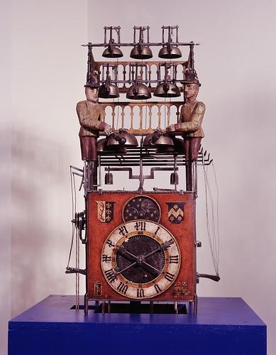 001-Reloj con autómatas y campanas 1480- Copyright Nationaal Museum van Speelklok tot Pierement