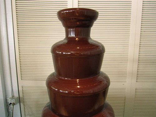 Chocolate fountain wtf! by Ross Catrow, on Flickr