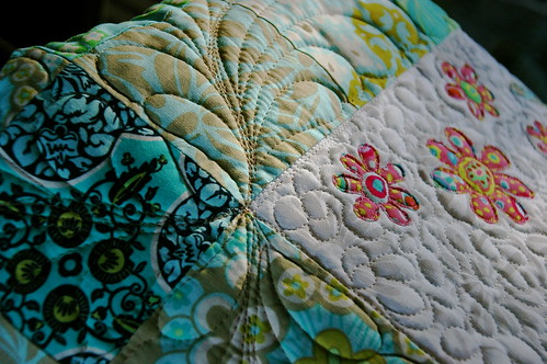 quilt from the peppermint patcher, detail