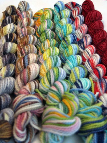 Twilight Mini Skeins from Sunshine Yarns