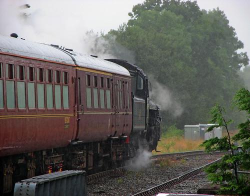 The Cambrian steam train