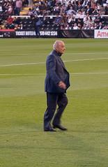 Mohamed Al-Fayed (Adam Frater) Tags: england football european russia soccer cottage fans chairman uefa craven mohamedalfayed europaleague fulhamvsfcamkarperm