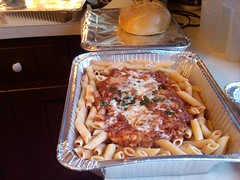 Rivoli's Chicken Parm Dinner to go. Thats 1 dinner!!! (robr3004) Tags: