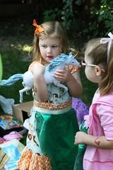 THE PRECIOUS, OH THE PRECIOUS (MelanieF) Tags: birthday party water cake balloons cupcakes cookie mermaids theme oysters snacks mermaid