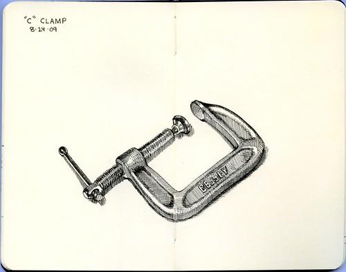 """""""c"""" clamp"""