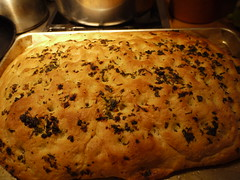 Focaccia - Just out of the oven