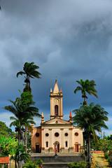 Igreja Matriz - Guaramiranga [HDR] (Pedro Cavalcante) Tags: brazil church brasil nikon churches iglesia pedro igreja cear igrejas brazili guaramiranga 18135 d80 18135mm nikond80 pedrocavalcante