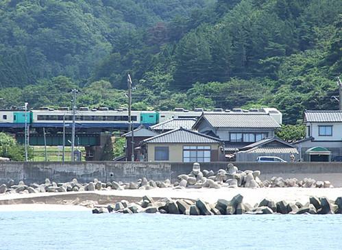 JR羽越本線 特別急行いなほ号