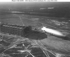 USS Akron at Lakehurst (lazzo51) Tags: aviation science usnavy blimps airships zeppelins luftschiff dirigibles ussakron zrs4