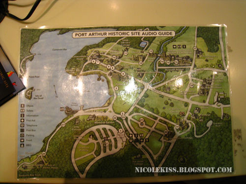map of port arthur