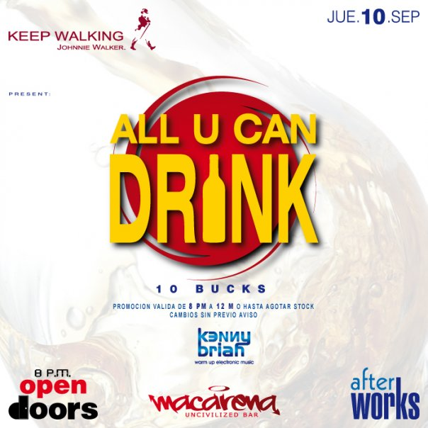 All U Can Drink - Macarena
