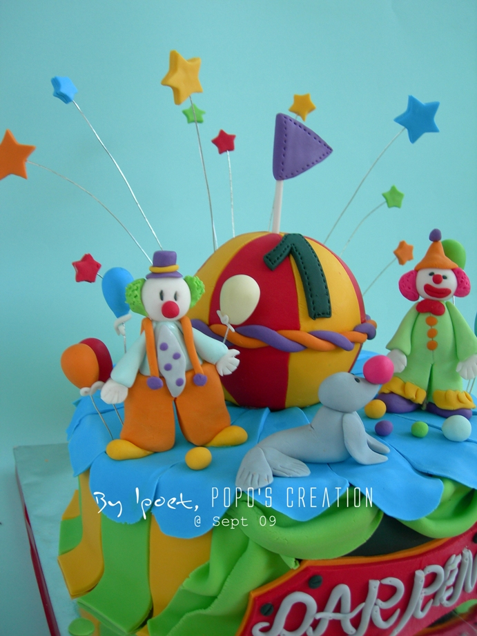 Circus Cake for Darren