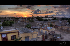 A Gathering Storm (jsnowy2768) Tags: sunset storm clouds neighborhood westafrica senegal saintlouis hdr quartier coucherdusoleil lacorniche ndar senegalriver lefleuvedusenegal