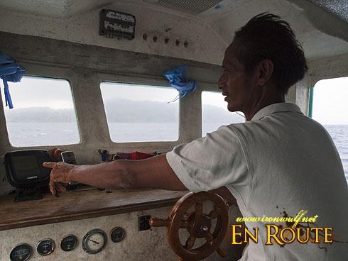 Batanes Fishing Checking the Fish Finder