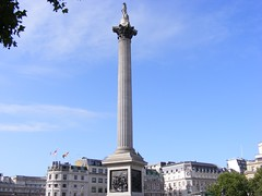Nelson's column and square