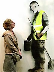 Banksy Tamed (IC-UC) Tags: bristol banksy robingunningham
