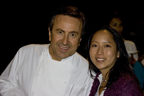 Daniel Boulud and Jessica at Le Fooding