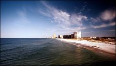 PCB SKYLINE (photogtom43) Tags: beach gulfofmexico skyline florida panamacitybeach nikonn65 konicafilm vivitarseriesonelens me2youphotographylevel1