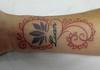 tatuagem red mehandi tattoo www.micaeltattoo.com.br/ Photo: Cláudia