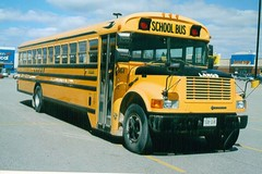 Canadian School Bus. Woodstock , Toronto . March-2006