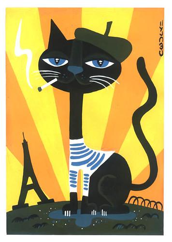 chatdeparis (cecily 2009) par cecilydevil