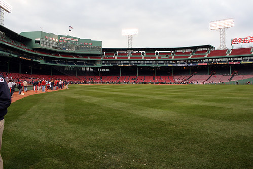 View from the warning track by you.