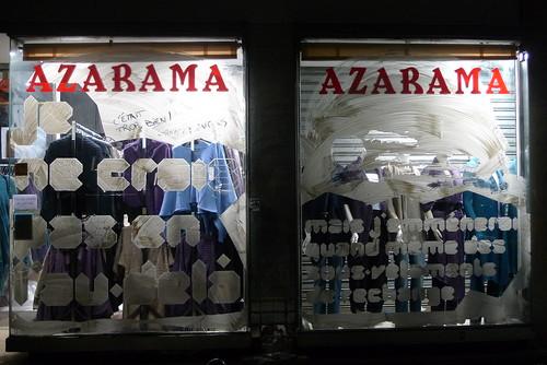 Vitrines nuit blanche 2009 rue sedaine - octobre 2009