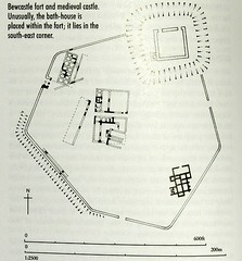 Plan of Bewcastle Roman fort