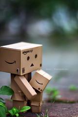 我要抱抱... (sⓘndy°) Tags: sanfrancisco toy toys box figure figurine sindy kaiyodo yotsuba danbo revoltech danboard 紙箱人 阿楞 flickrunitedaward amazoncomjp