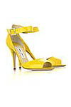 yellow patent Jimmy Choo heels