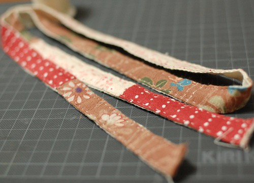 How to make a patchwork Lanyard 6