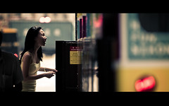 ticket to ride (millan p. rible) Tags: life china street hk cinema bus canon real hongkong ride bokeh candid streetphotography tram ticket stranger cine moment tickettoride cinematic anamorphic sheungwan cinemascope canonef70200mmf28lisusm hongkongtramway canoneos5dmarkii millanprible heungkong